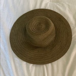 Floppy brown sun hat